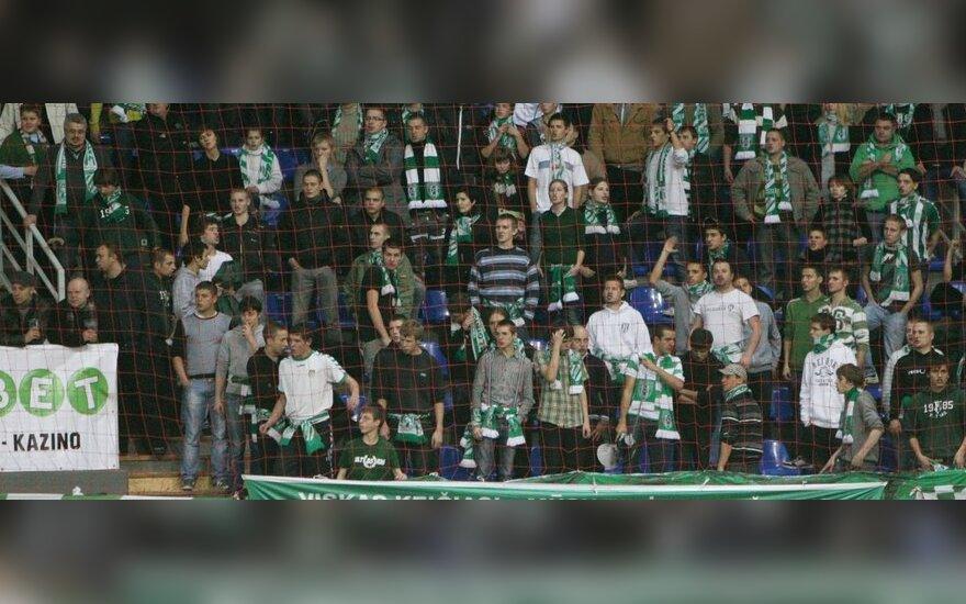 """Vilniaus """"Žalgirio"""" fanai"""