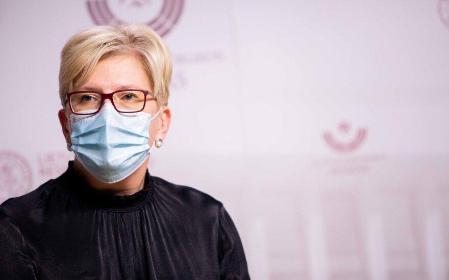 Премьер-министр Литвы осторожно оценивает прогнозы президента в вопросе вакцинации