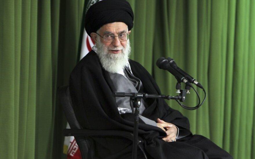 Irano ajatola Ali Khamenei