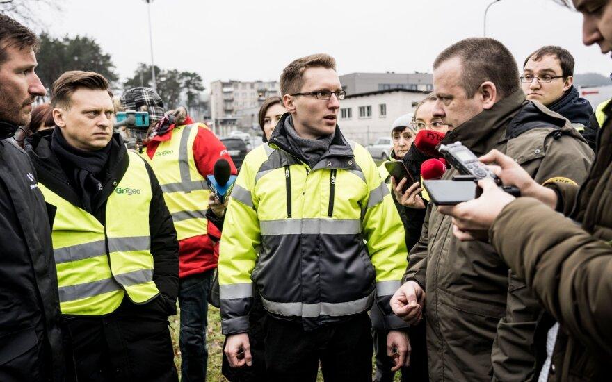 Представители муниципалитета провели проверку на территории завода Grigeo в Григишкес