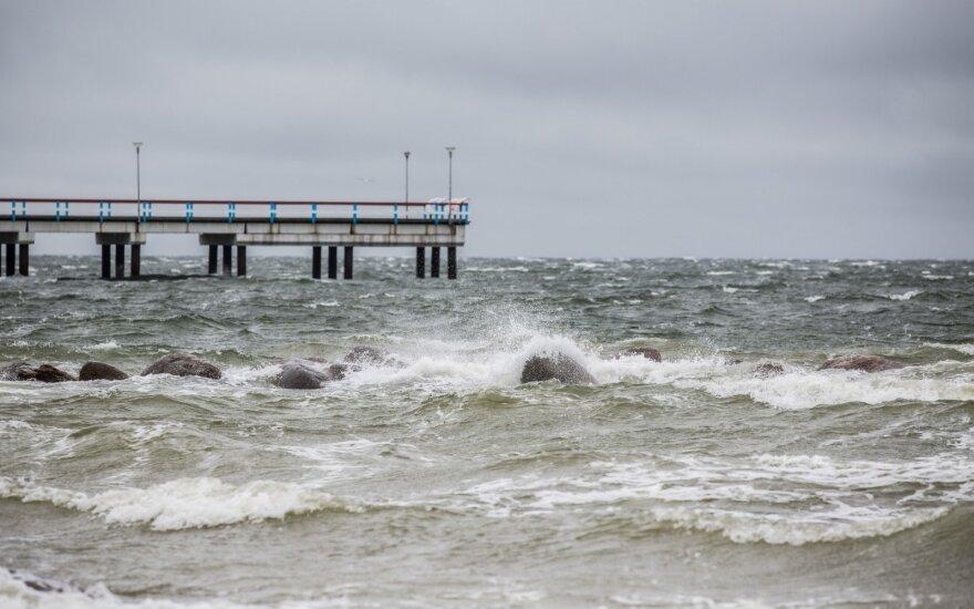 Паланга планирует качать воду из Балтийского моря для туристов