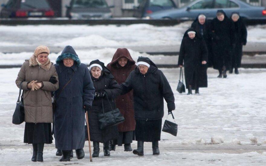 В Литве монашек в 4 раза больше, чем монахов