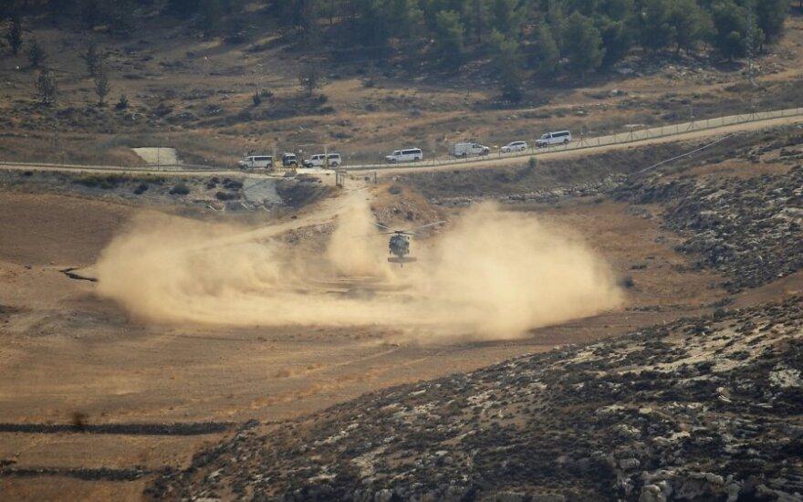 Izraelis numušė nepilotuojamą lėktuvą - ieškoma jo liekanų