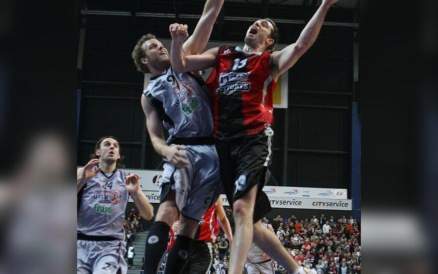 Lietuvos rytas дома выиграл у клуба из Бильбао