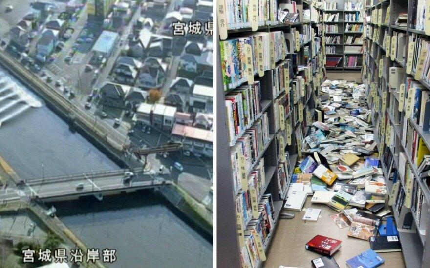Мощное землетрясение произошло у побережья Японии, угроза цунами