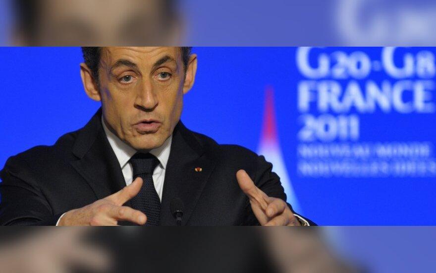 G20 susitikimas, Prancūzijos prezidentas N. Sarkozy