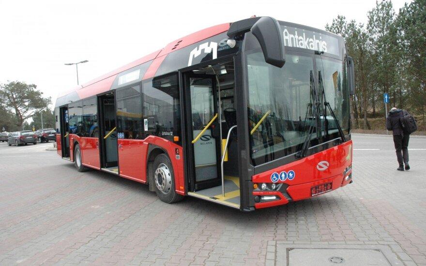 """Naujieji Vilniaus autobusai """"Solaris Urbino"""""""