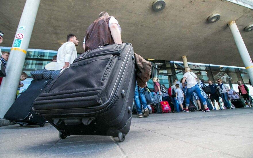 Рост потока авиапассажиров в Литве - один из наиболее заметных в ЕС