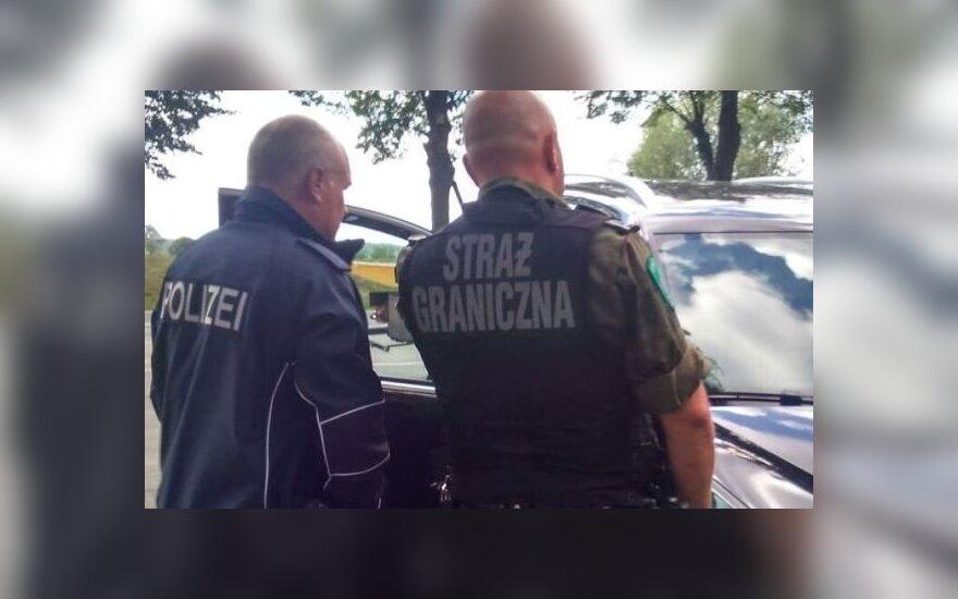 Straż Graniczna i niemiecka policja