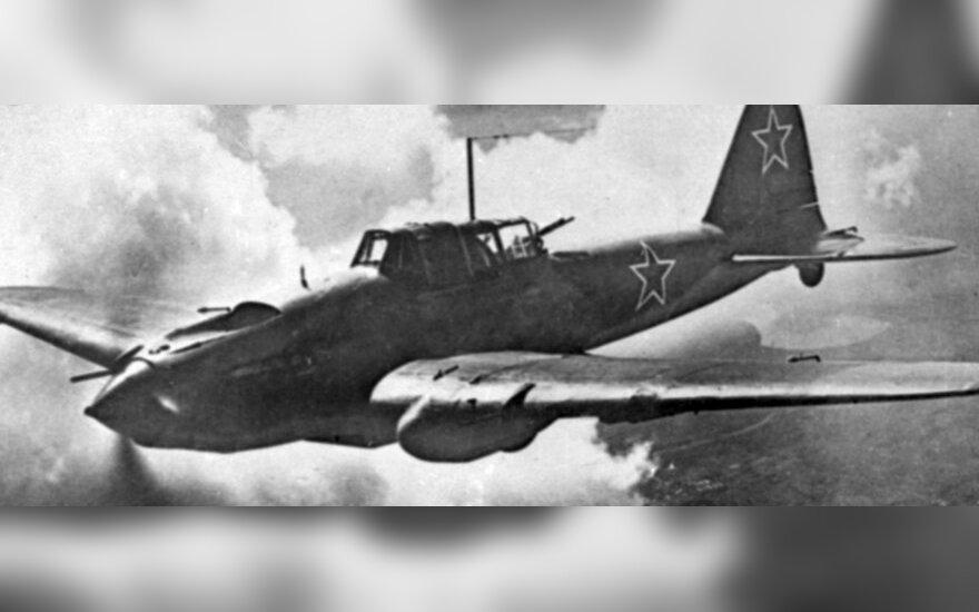 У берегов Эстонии найден советский самолет времен ВМВ