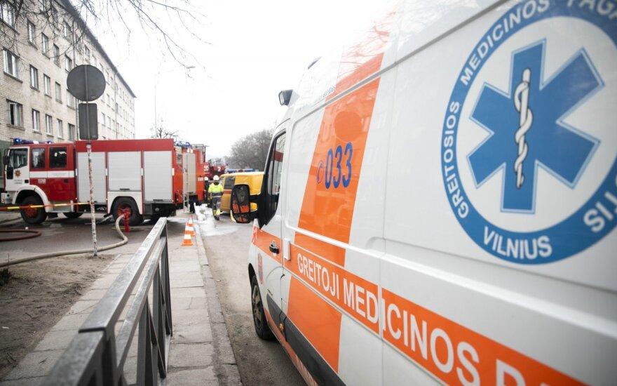 В Вильнюсе автомобиль сбил десятилетнего мальчика