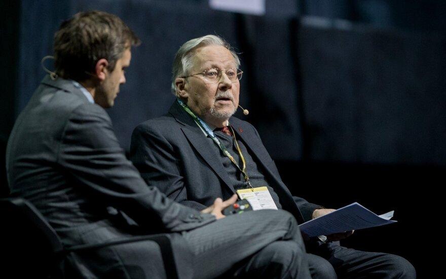 Andrius Tapinas ir Prof. Vytautas Landsbergis
