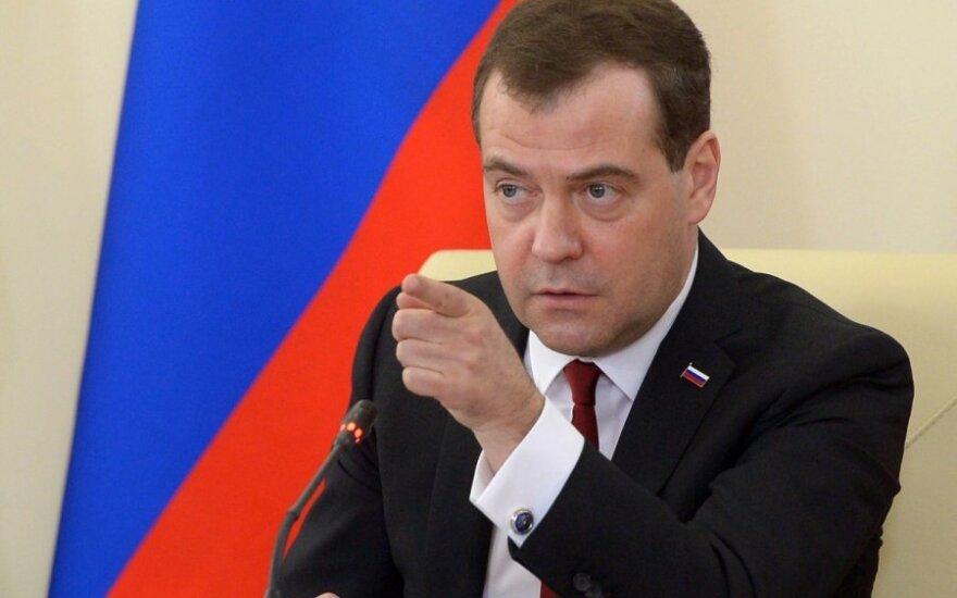 Медведев: Россия готовится защищать свой рынок от Украины и ЕС