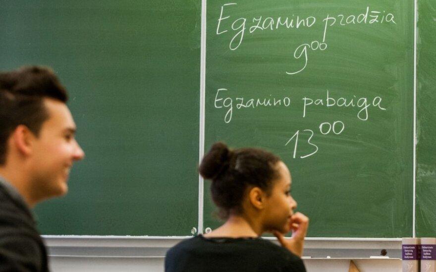 Министр предлагает сделать государственный экзамен по литовскому обязательным