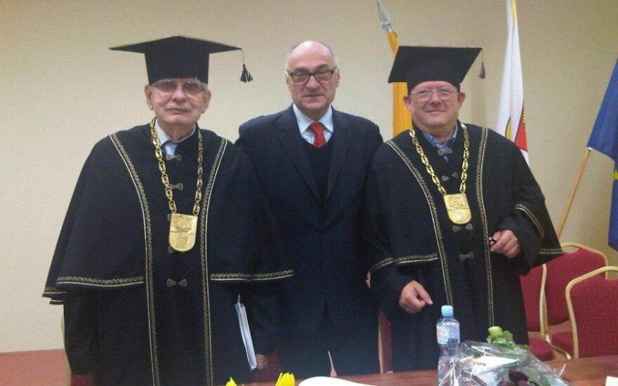 A. Michnik i T. Venclova
