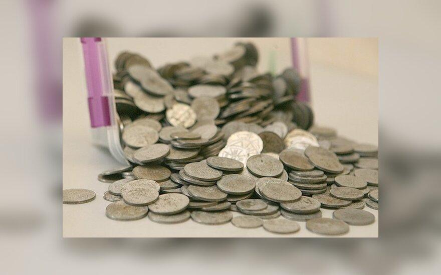 В книге из Украины обнаружили старинные монеты