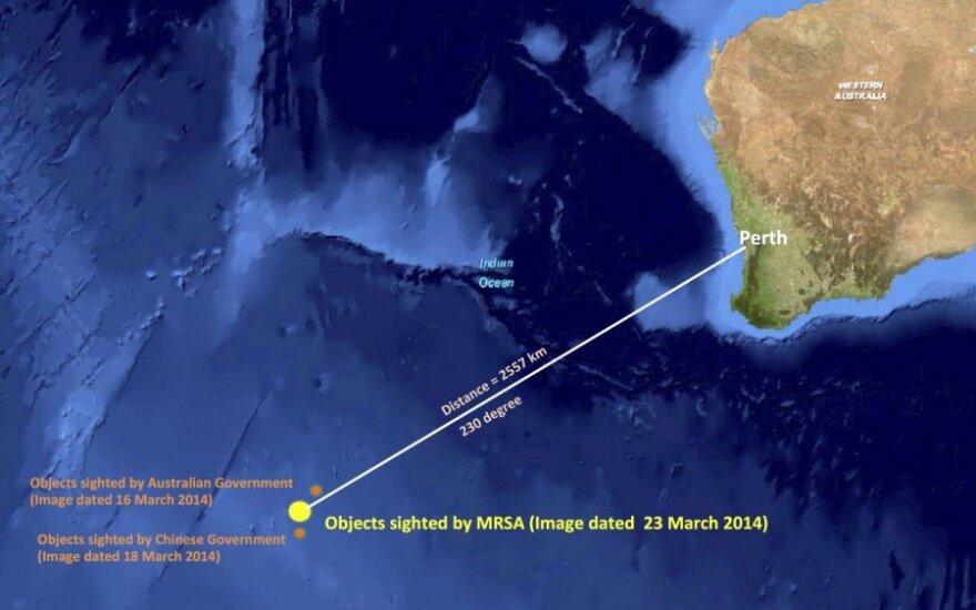 """В Индийском океане нашли более 120 предполагаемых обломков """"Боинга"""""""