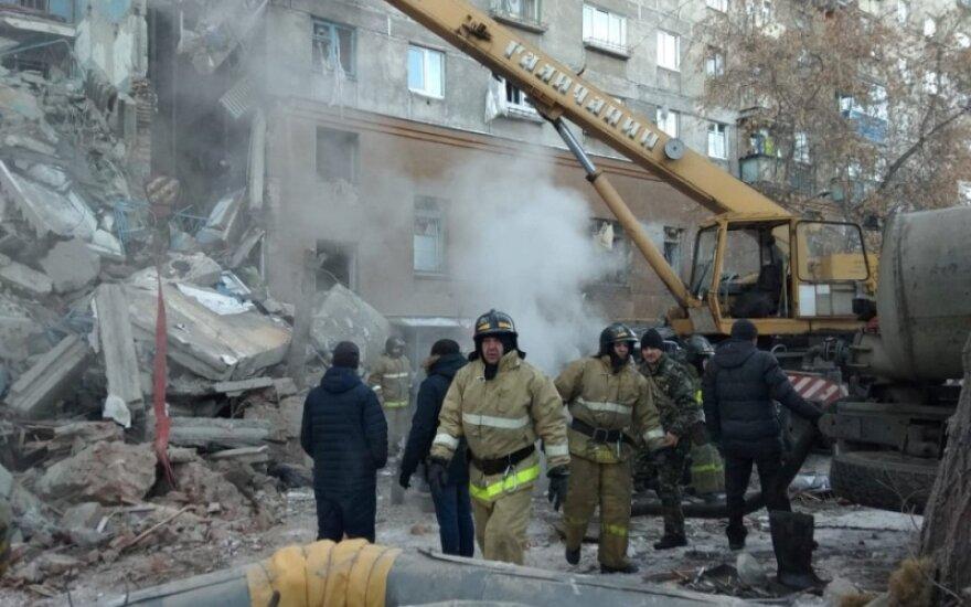 В Магнитогорске из-за взрыва газа обрушился подъезд жилого дома: eсть погибшие, судьба десятков человек неизвестна