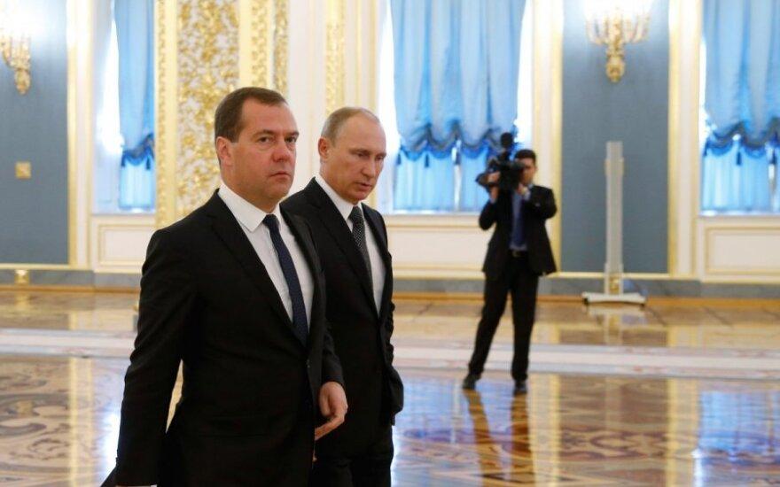 Dmitrijus Medvedevas, Vladimiras Putinas