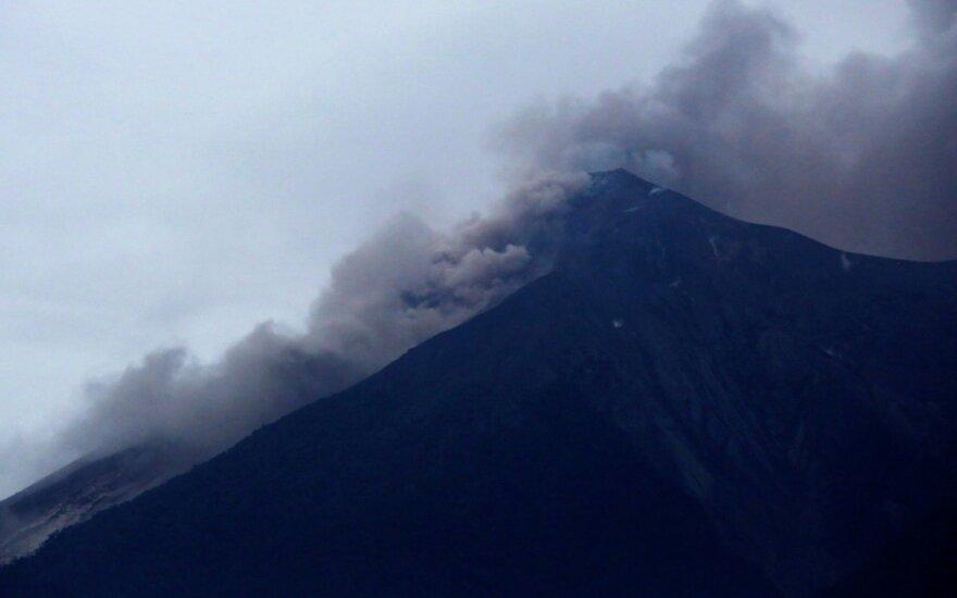 Ugnikalnio išsiveržimas Gvatemaloje