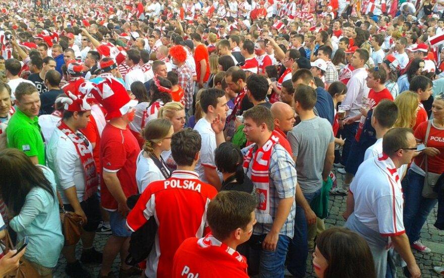 Euro 2012. Kibice, fot. Tomasz Zapalski