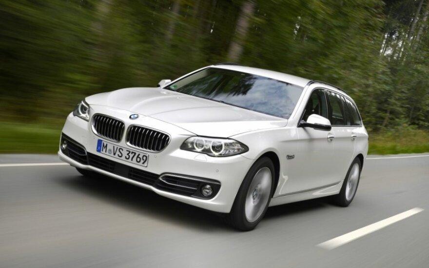 Парламентская канцелярия приобрела 10 новых BMW 520