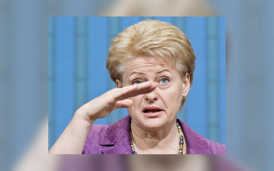 Д.Грибаускайте открыла Р.Шаркинасу глаза на зарплату