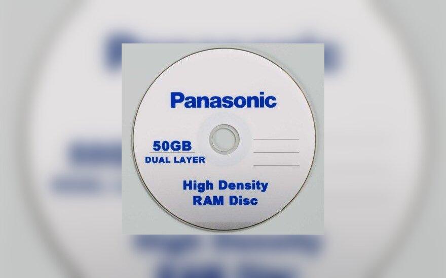 """""""Panasonic"""" diskas"""