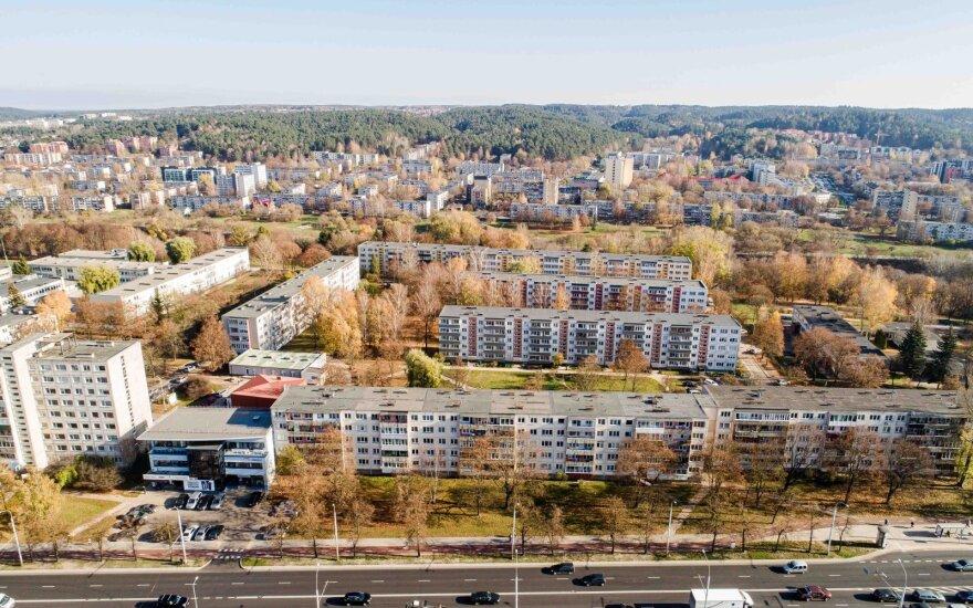 Жилье в этом районе Вильнюса можно купить за 15 000 евро: считается одним из лучших спальных районов