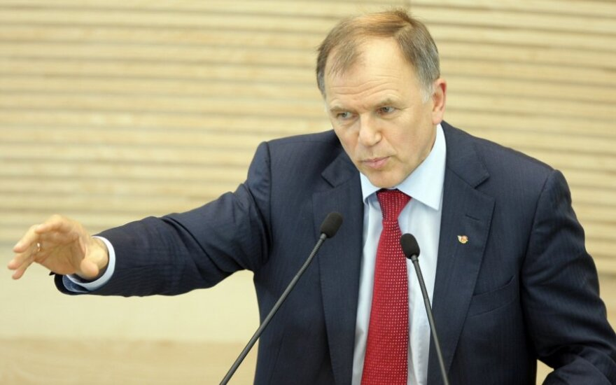 В ходе осенней сессии в Сейме самым активным был Андрюкайтис