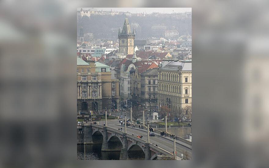 Čėkija, Praha, miesto panorama