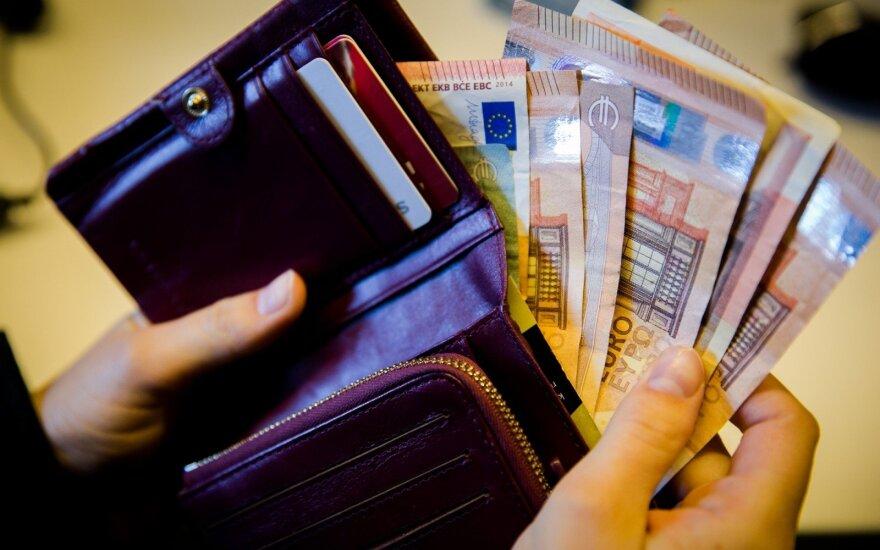 Средняя начисленная зарплата в Литве выросла за год на 9,4%