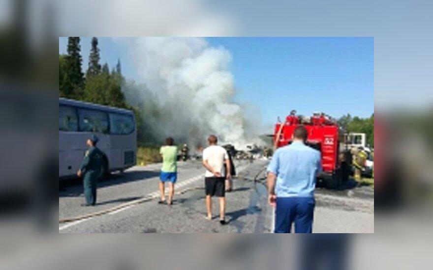 На дорогах России в двух крупных ДТП погибли 22 человека