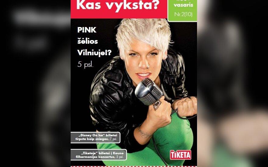 В Литве ожидают выступления певицы Pink