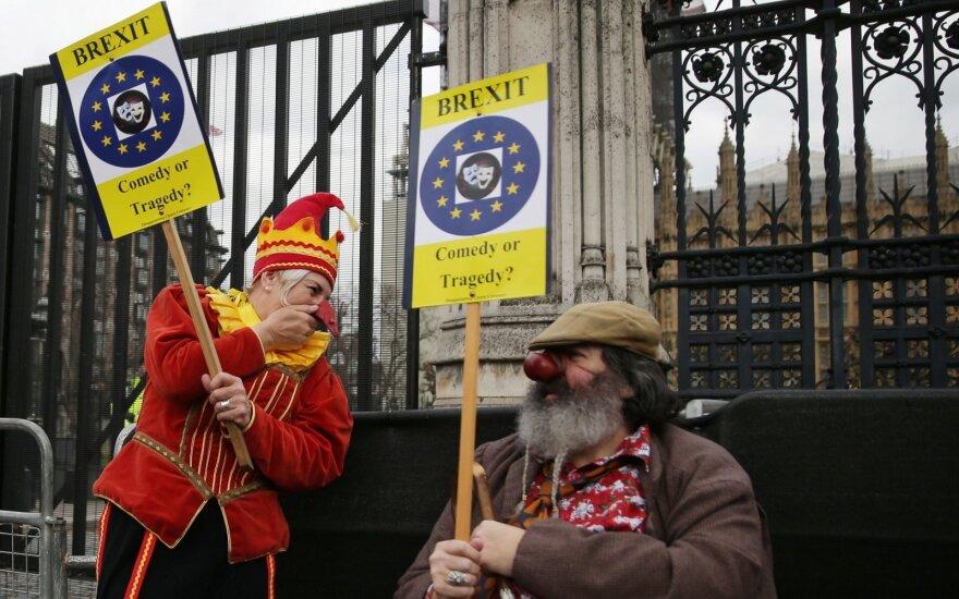 Britų parlamente vyksta balsavimas