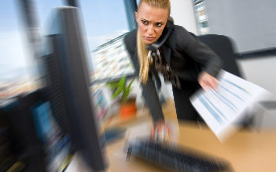 Женщине надоело терпеть унижения со стороны работодателя