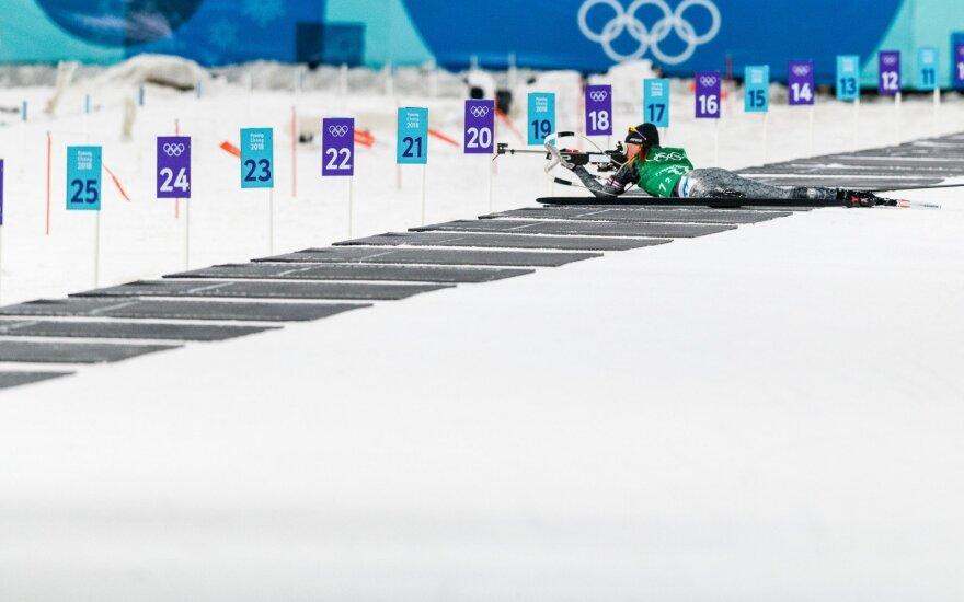 Olimpinių žaidynių biatlono mišrių estafečių varžybos