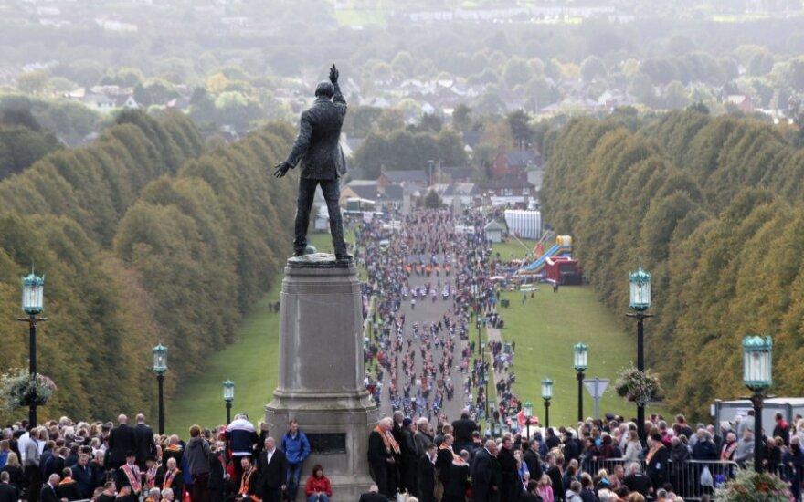 В Северной Ирландии снова поднят флаг Британии