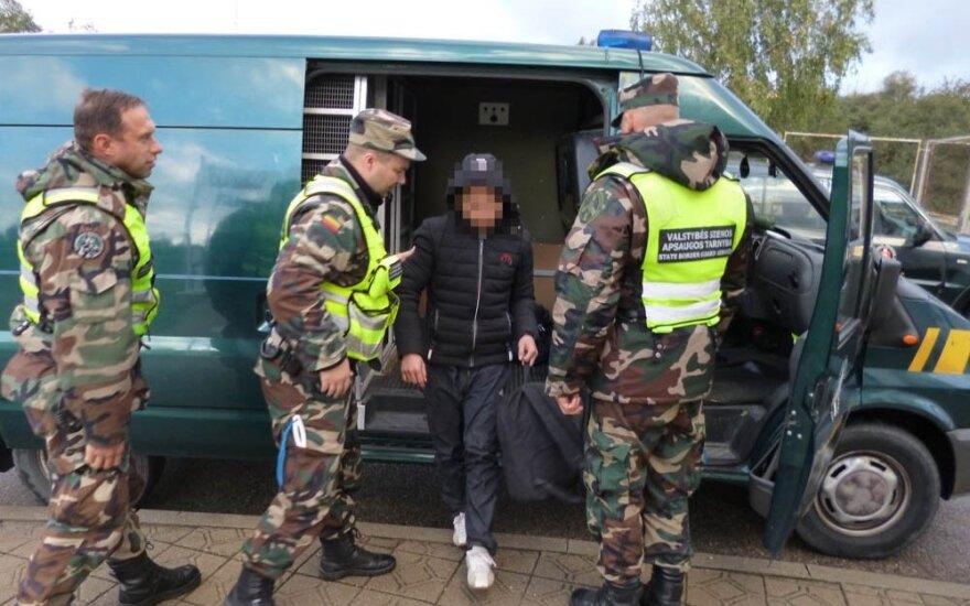 В Литве задержаны 4 нелегальных мигранта из Вьетнама