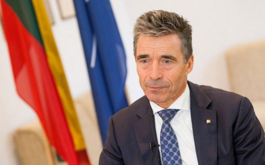 Расмуссен: НАТО увеличит количество военных учений