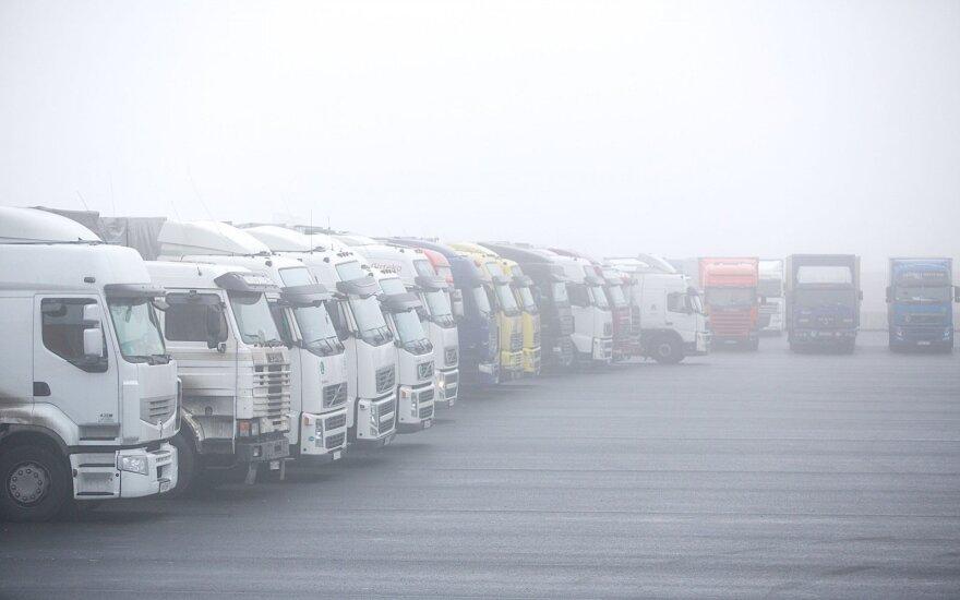 В Литве растут грузовые и пассажирские перевозки