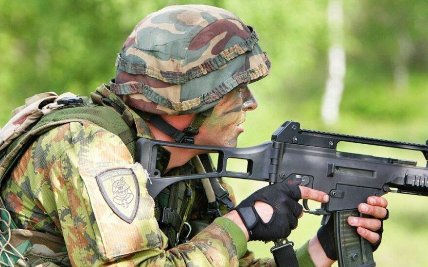 Российские инспекторы проверят вооружение бригады Gelezinis vilkas