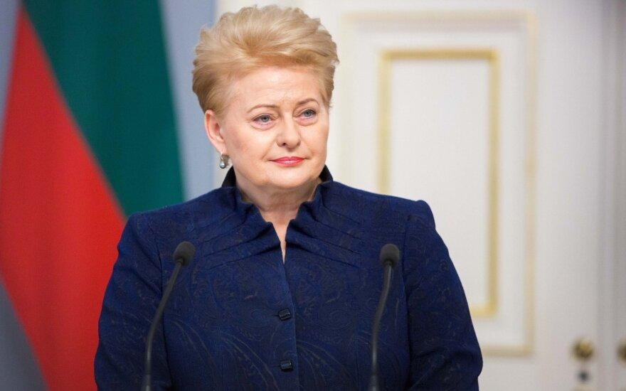 Президент Литвы готовится к встрече с Порошенко