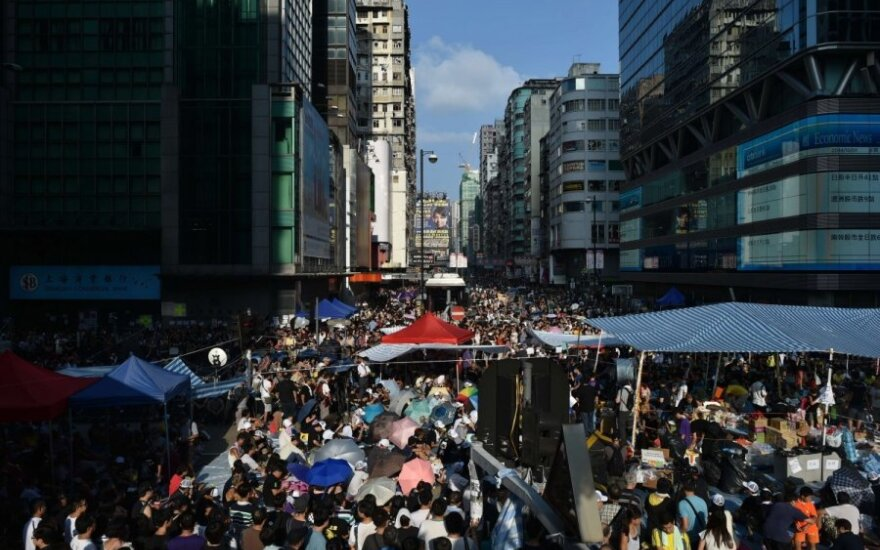 Демонстранты в Гонконге согласились на переговоры