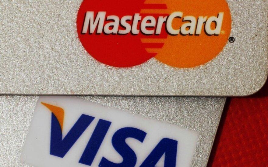 Visa ir MasterCard