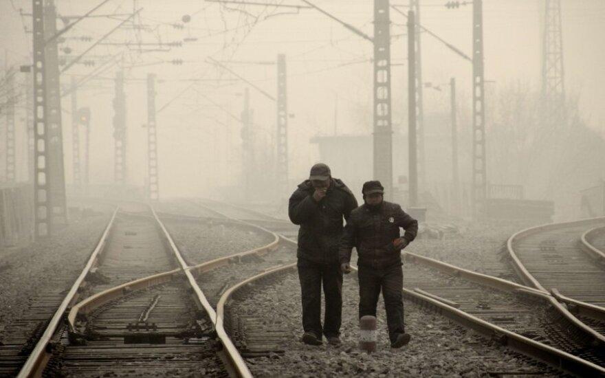Власти Пекина закрывают заводы из-за загрязнения воздуха