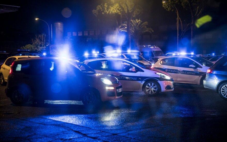 ФОТО, ВИДЕО: В Италии преступник поджег автобус с детьми