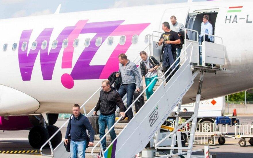 Wizz Air начинает летать из Паланги в Лондон