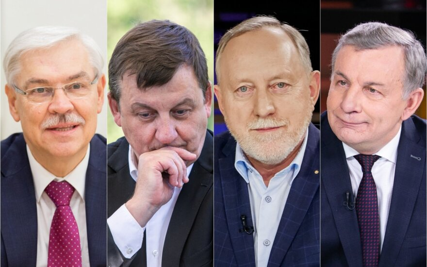 Zigmantas Balčytis, Rolandas Valiūnas, Gintautas Pangonis, Rimantas Sinkevičius