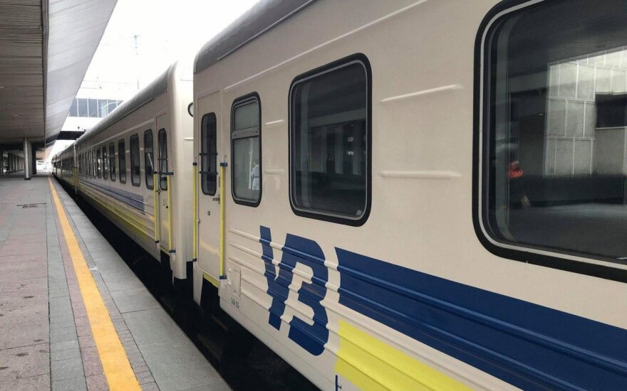 """""""Укрзализныця"""" показала поезд """"четырех столиц"""""""